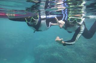 只要269元起,即可享有【墾丁南勇浮潛中心】單人方案(浮潛/潛水)〈含A.岸邊浮潛 / B.後壁湖體驗潛水120分鐘(含裝備整裝、教學指導、教練一對二教學引導)〉