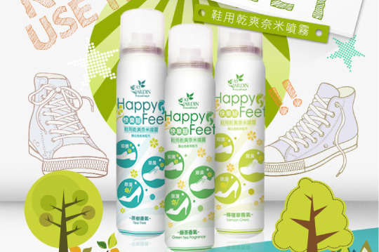[全國] 每入只要180元起,即可享有【Fay Jardin】日本技術快樂腳鞋用奈米除臭噴霧