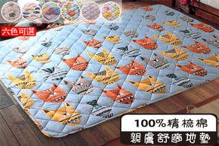 只要390元起,即可享有自然舒適精梳棉地墊(50*90cm) / 加大地墊(150*180cm)等組合,款式可選:圖騰/水果/色塊/水滴/葉子/貓咪