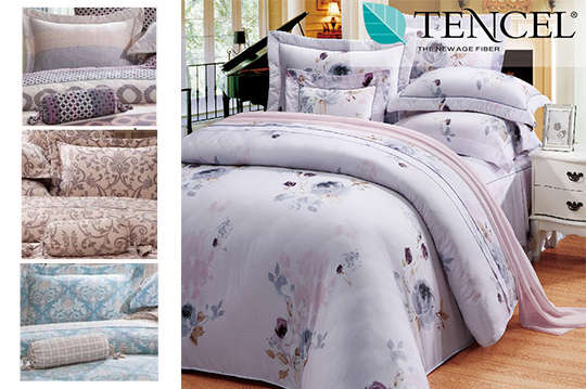 只要2280元起,即可享有100%頂級天絲全舖棉-床包兩用被四件組/八件式床罩組(雙人/雙人加大)任選一組,多種款式可選