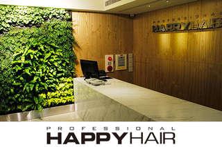 只要399元起,即可享有【HAPPYHAIR(育德店)】A.設計造型剪髮 / B.伊聖詩雙效奇肌HairSpa / C.(曲線造型燙髮+加拿大AG質感護髮) / D.(時尚色彩染髮+加拿大AG質感護髮)