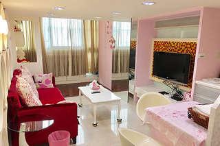 週五不加價!【高雄-夢想小屋】簡約、時尚、可愛、浪漫等主題房型,讓您在此找到屬於自己的夢想小屋!還有平日升等房型、愛河劵二選一!