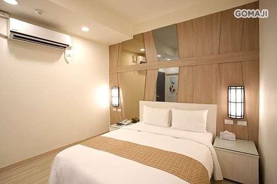 只要550元,即可享有【台北-正點旅店】你最正點專案 〈雙人房不分房型不分平假日休息3小時 + vod藍光 + wifi〉
