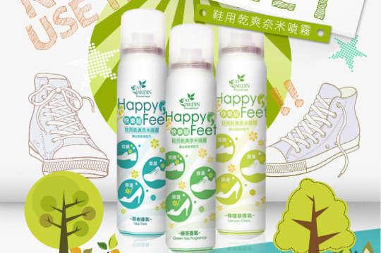 每入只要180元起,即可享有【Fay Jardin】日本技術快樂腳鞋用奈米除臭噴霧〈一入/三入/五入,種類可選:茶樹/綠茶/檸檬草〉