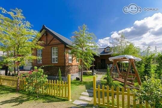 宜兰【风情民宿】独栋异国风情小木屋,专属的私密空间