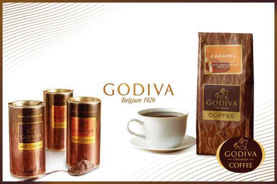 [全國] 只要850元起,即可享有【GODIVA】熱可可系列/烘焙咖啡粉系列等組合