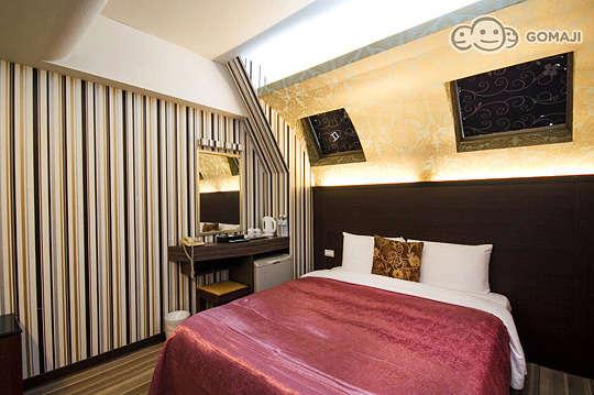 只要380元,即可享有【台北-力歐時尚旅館】歐歐歐歐~喜歡我喜歡妳〈含商務雙人房型雙人平日休息2小時〉