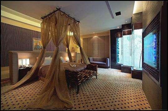 春风休闲旅馆共有33间不同主题风格设计的房间