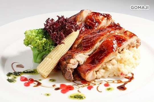 只要349元起,即可享有【BOCCA di ROYAL 波卡義式私房料理】A.經典義式料理(七品) / B.奢華義式料理(七品)
