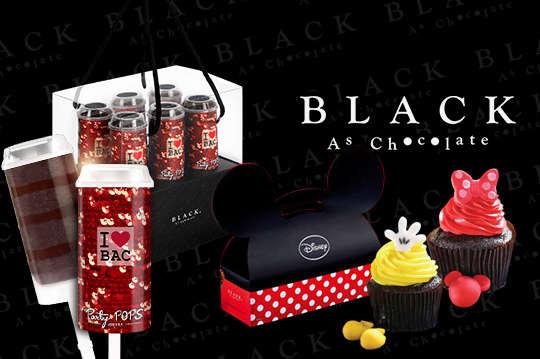 只要249元起,即可享有【Black As Chocolate】A.PARTY POPS薄荷起士巧克力推管蛋糕禮盒一盒(三入) / B.PARTY POPS芒果巧克力推管蛋糕禮盒一盒(六入) / C.PARTY POPS莓果巧克力推管蛋糕禮盒一盒(六入) / D.PARTY POPS經典巧克力推管蛋糕禮盒一盒(六入) / E.Mickey米奇杯子蛋糕禮盒一盒(三入) / F.Minnie米妮杯子蛋糕禮盒一盒(三入)
