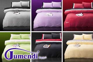 怎麼這麼快天就亮了?【Jumendi-防蹣抗菌薄被水鑽套床包】能有效防蹣抑菌,細柔、透氣觸感,給肌膚最舒適的睡眠環境!