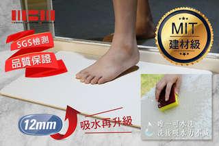 只要850元起,即可享有SGS認證-台灣製可水洗加厚抗菌超吸水珪藻土地墊等組合