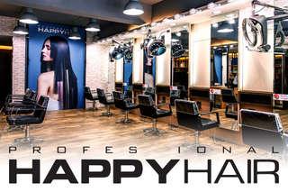 只要499元起,即可享有【HAPPYHAIR(文華店)】A.設計剪髮 / B.伊聖詩雙效奇肌HAIR SPA / C.質感染髮專案 / D.日式質感燙髮