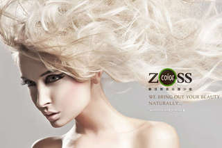 只要599元起,即可享有【ZOSS color樂活無氨染護沙龍】A.護髮專案 / B.染燙專案 / C.L\\\'Oréal Paris萊雅艾麗雅驚豔染髮專案