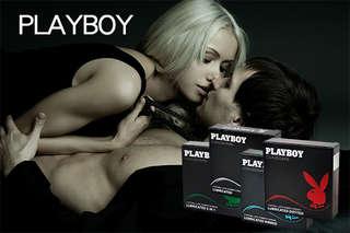 每盒只要16元起,即可享有【花花公子PLAYBOY】保險套〈任選5盒/10盒/24盒/36盒/48盒/60盒/72盒,款式可選:螺紋/顆粒/潤滑/三合一〉