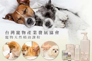 【台灣寵物產業發展協會】邀請台大獸醫開班授課!毛小孩專業按摩/寵物天然精油課程限時699元起!120分鐘課程讓麻吉認識寵物按摩與精油操作,更加了解毛孩子!