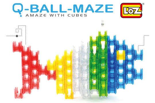 玩法无限~【q-ball-maze滚滚迷宫建构积木滚球组/滚球大组】一款让图片