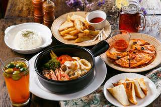 只要238元起(雙人價),即可享有【巴莎諾瓦】A.無敵海景雙人餐 / B.精緻午茶分享餐