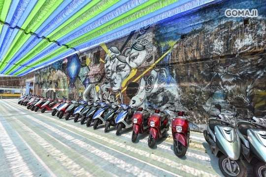 只要288元,即可享有【台南文創機車出租】假日不加價,輕鬆遊台南專案〈(V2/GP 125cc車款)24小時租車〉