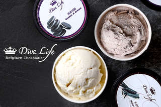 給味蕾一場美好饗宴~【Diva Life】絕妙的可可口感蘊含迷人甜香氣息,融合可可天然苦味與橡木風味,融入冰淇淋中打造完美口感!