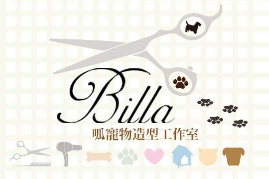 只要230元起,即可享有【Billa 呱寵物造型工作室】Go麻吉 狗麻吉 洗香香體驗課程美容洗澡三套裝 A.小型犬(7kg以內) / B.中型犬(7.1kg~12kg以內) / C.貓咪(不限體型)