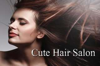 美髮大作戰!【Cute Hair Salon】專業頭皮、護髮保養讓頭皮深層潔淨,繽紛質感染髮創造嶄新造型,秀髮自然柔順、亮麗動人!