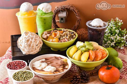 只要65元,即可享有【東東剉冰站】平假日皆可抵用100元消費金額〈特別推薦:綜合剉冰、水果剉冰、果醬綿綿冰、芒果冰沙、奇異果冰沙、漂浮汽水、三色豆花〉