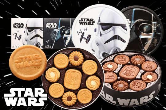 每盒只要359元起(含運費),即可享有【BOURBON北日本】STAR WARS星際大戰限量圓罐餅乾〈一盒/四盒,口味可選:可可餅乾(黑)/奶油餅乾(白) 〉