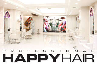 只要499元起,即可享有【HAPPYHAIR(台中中港店)】A.日本TM時光奇蹟迷你護髮+設計剪髮 / B.伊聖詩雙效奇肌HairSpa / C.日系質感染燙專案+TM時光奇蹟護髮
