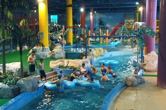 水上儿童乐园室内