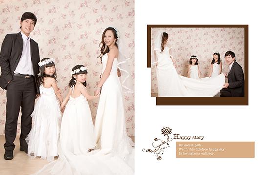 我爱您个人艺术照专案 / c.母亲节全家福合拍专案