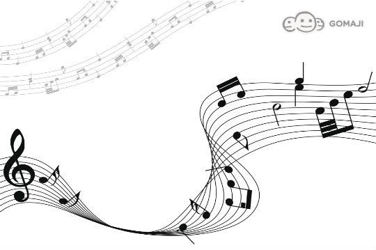 钢琴键盘 卡通钢琴键盘简笔画