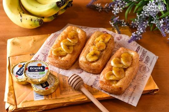〈特别推荐:法国面包(绳子,长棍)     松软的可颂面包造型可爱,尝起来