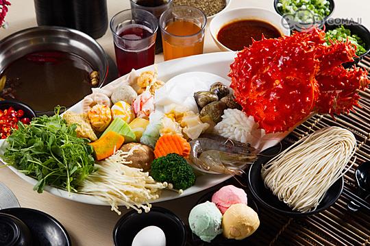 大漠严选锅品全餐 / b.帝王海鲜船火锅全餐