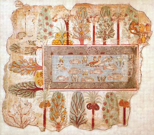 揭秘古埃及米开朗基罗前1350年绘制的墓穴壁画;