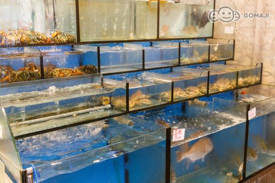 海城堡生鲜餐厅 生猛活海鲜料理!