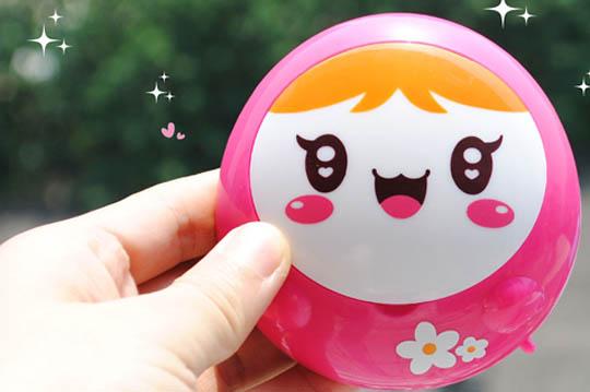 可爱的笑脸娃娃超疗愈,不只给你温暖,连心都跟著暖了起来,4个颜色