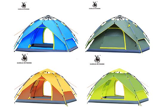 外帐230x230x140cm     帐篷 手提袋 营钉     收合手提袋69x17x