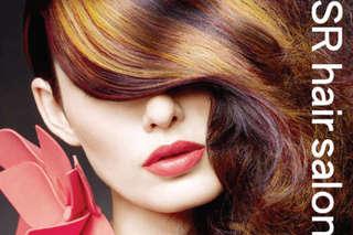 只要999元,即可享有【SR hair salon】三大頂級品牌美髮專案〈含萊雅SPA洗髮 + 精緻剪髮 + 德國歌薇燙髮/法國巴黎低氨染髮 二選一(不分長短) + 日本資生堂護髮 + 造型吹整〉加贈..
