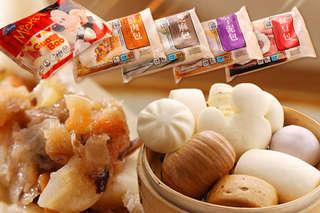 每包只要55元起,即可享有奇美包子饅頭系列〈6包/9包/12包/18包,口味可選:米奇造型刈包/鮮肉包子/芝麻包/芋泥包/紅豆包/高麗菜包/雞蛋牛奶銀絲卷/沖繩黑糖捲/牛奶饅頭/養生饅頭/蔥花捲〉